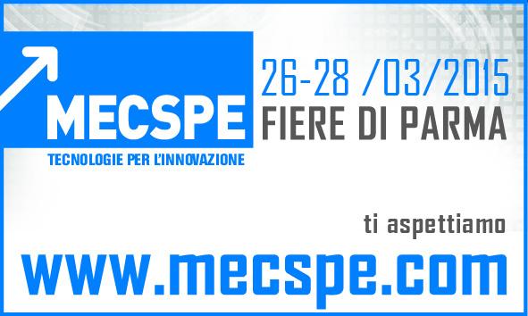 Vi aspettiamo a MecSpe 2015